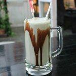 Chocolate Mint Milk Shake