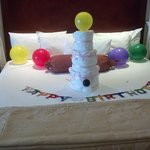 Birthday decoration by Maid/Guest services.