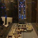 макет отеля