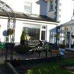 Glasha patio and garden