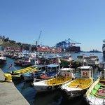 Valparaiso.... cidade próxima, porto imagens inesqueciveis