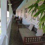 verandah of Grand Apartment