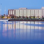 DoubleTree hotel on Saginaw River