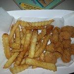 shrimp at $4/ounce