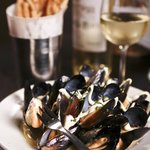 Mussels and Wine = Perfection