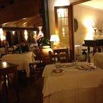sala ristorante... cena lume di candela