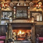 Main bar open fire