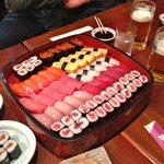 The sushi plate