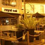 Royal Oak beer garden