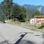 Entrada al pueblo de Puerto Fuy (a 3 kilometros de Neltume)