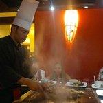 El restaurante japonés del hotel