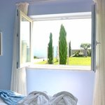 the colour of dream with a view to Sintra mountain..