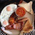 breakfast - lukewarm