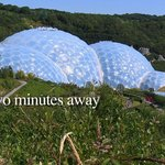 Eden Project on our doorstep