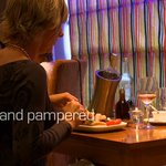 Intimate dining in Waves Restaurant