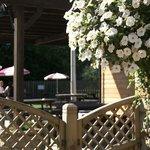 Beautiful gardens, terrace & children's areas