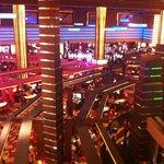 Casino from escalator