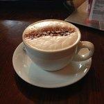 A very decent cappuccino