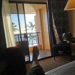 Deluxe Ocean Front room, 4th floor, Ocean Wing, Sheraton Kauai