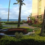 Ocean Wing in right side of photo; Sheraton Kauai; my favorite, but further from pool & bar.