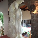 Artwork made out of butter.... only in Seychelles