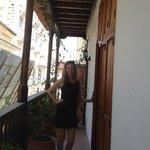 balcony of room 8