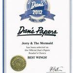 Dan's Papers, Best Wings 2012