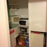 Small, sunny kitchen