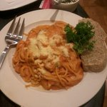 taste really good,my seafood pasta :)