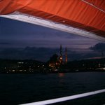 View to Eminönü from the boat