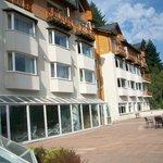 Vista externa hotel
