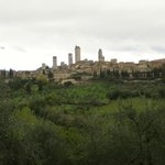 San Gimignano from the house
