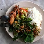 This plate of mixed rice at RM9.50