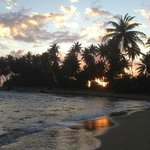 Playa Caribe sunset