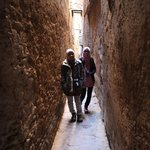 alleyways to riad