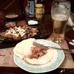 Chicken Fajitas at Sherlock Holmes - Old English Pub