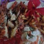 wow yummy lobster dinner