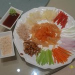 """""""Yu Sheng"""" - Meant for CNY. ZhuHai style is healthier while less """"fluffy""""."""