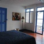 view of room towards verandah