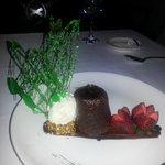 the lava dessert