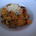 lamb risotto, sans feta and texture of any kind