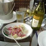 Kinilaw - Fresh Tuna with White Vinegar & Vegetables