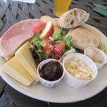 Ploughman's lunch-big enough to share