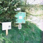 The beginning of the Wildlife & History Trail
