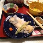 tempura compresa nel menu