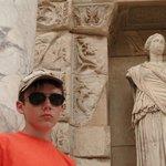 В античном городе Эфес