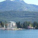 Hotel from Lake Garda