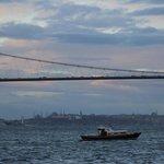 Bosphorus bridge and riv
