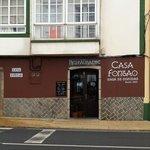 """Fachada de la Casa de Comidas """"CASA FONTAO"""""""