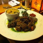 Moroccan spiced lamb main